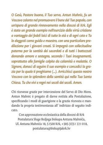 molitva-talijanski tekst