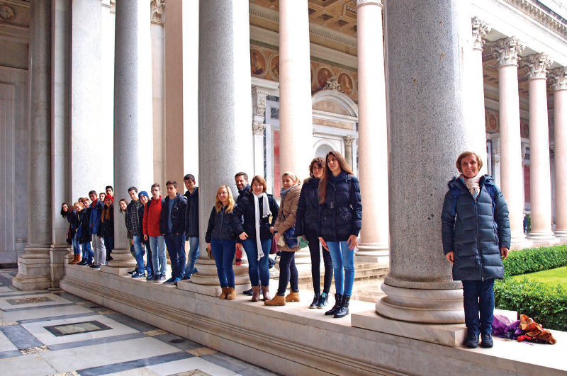 Hodocasce mladih zupe Krk u Rim (2)