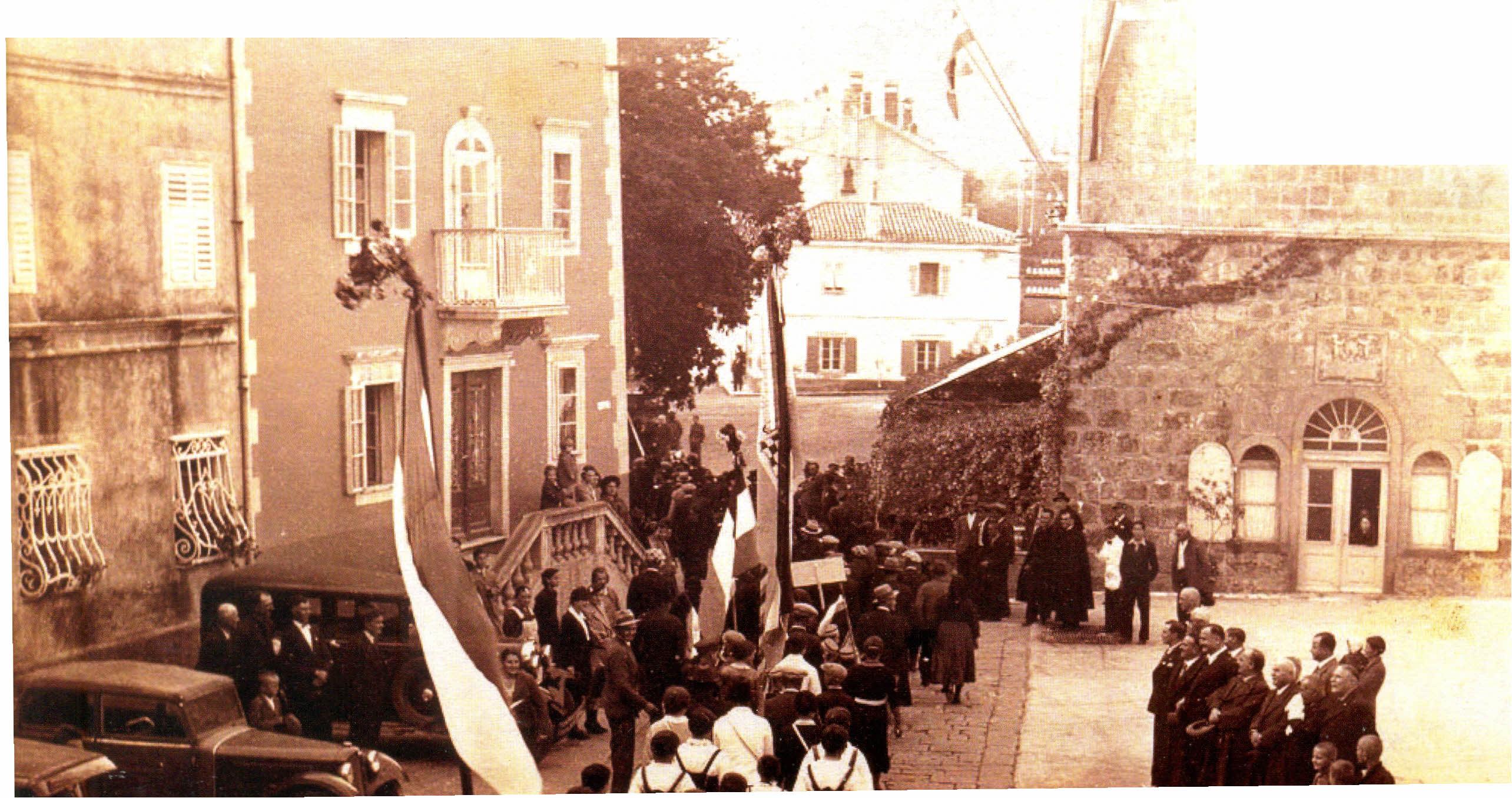Blagoslov zastava 1938