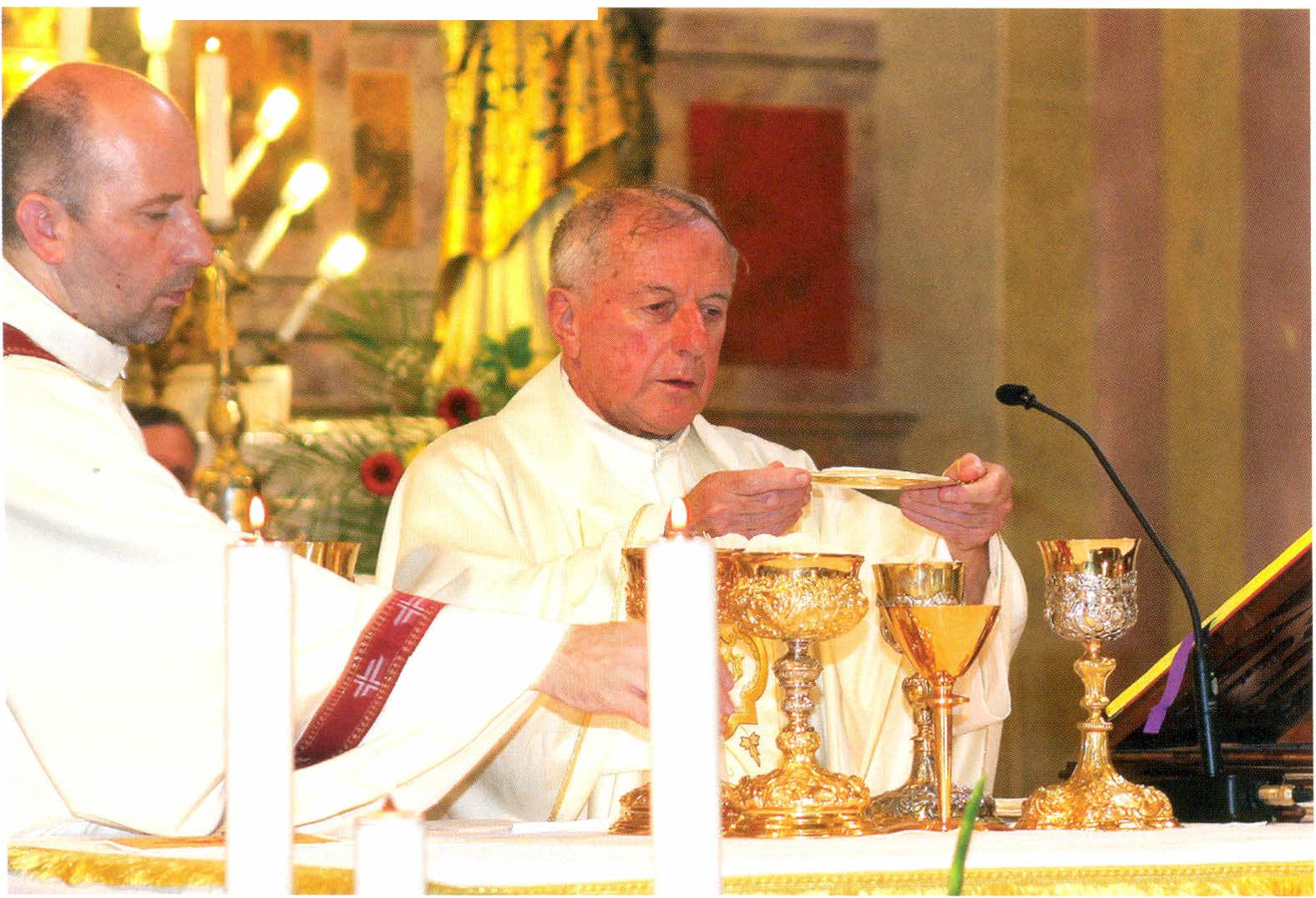 Mons. Giuseppe Vosilla - zlatna misa