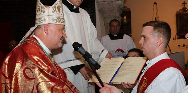Svećeničko ređenje vlč. Antona Budinića