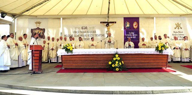 Biskupijsko hodočašće na Trsat