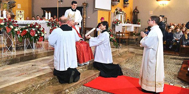 Zaređen vlč. Josip Karabaić, novi đakon Krčke biskupije